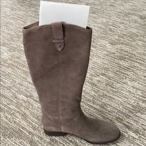 Grey/brown Riding boots